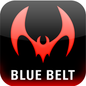 Draculino's Jiu Jitsu iPhone App - Blue Belt Complete